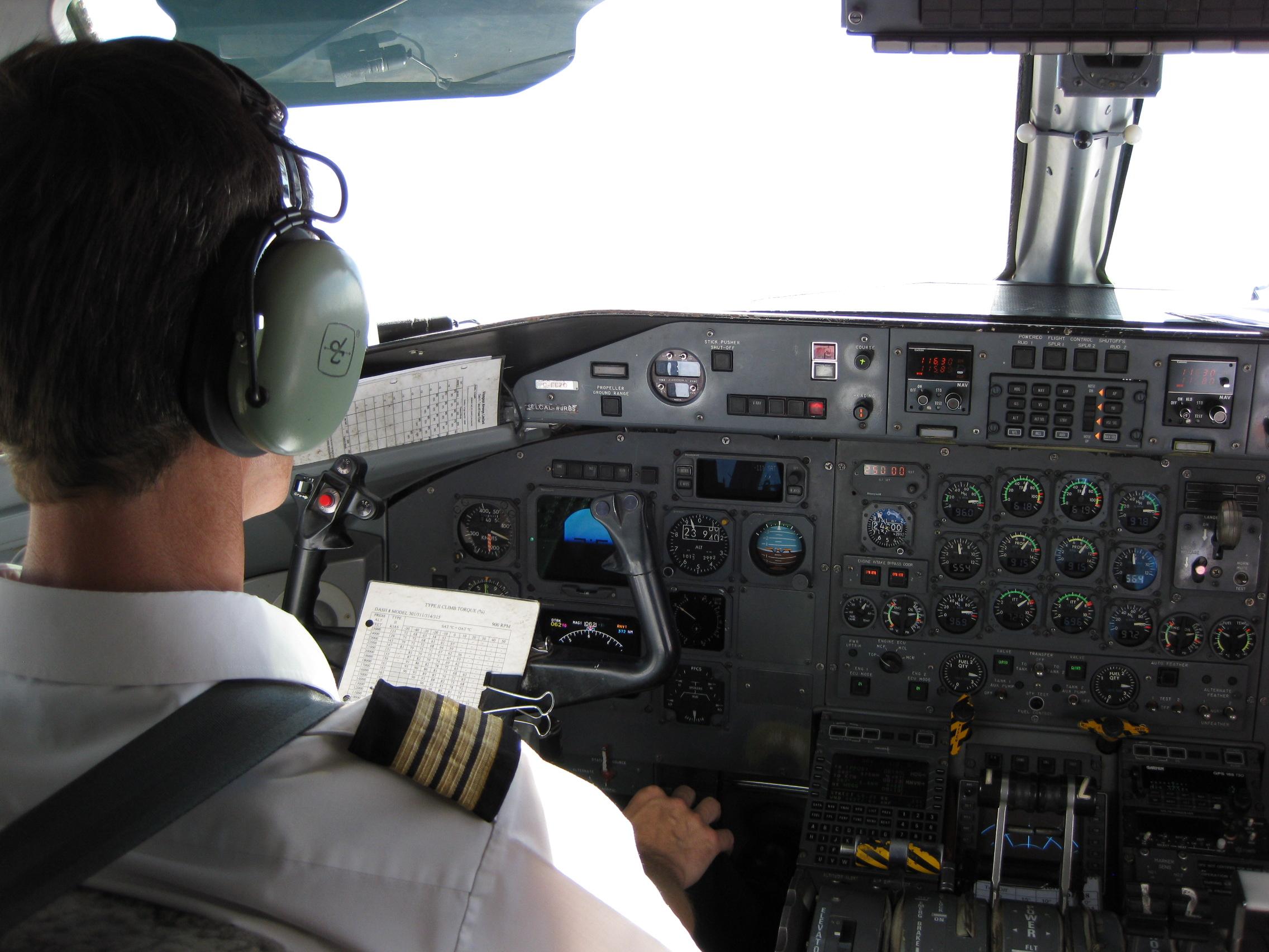 Cruising altitude checklist