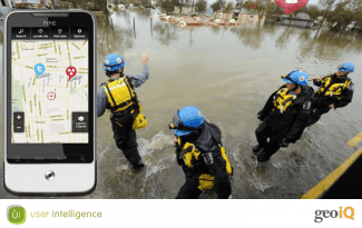 GeoIQ Mobile App for Search and Rescue