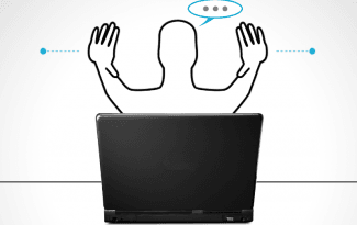 Touch-Free Gestures and Natural Language Interaction
