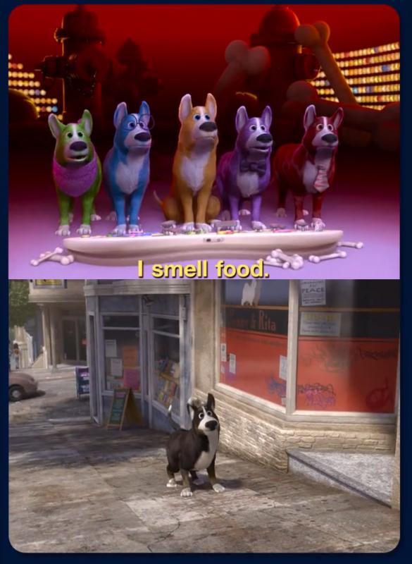 Dog Inside Out