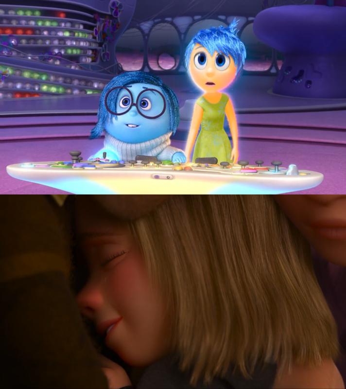 Sadness being authentically Sadness