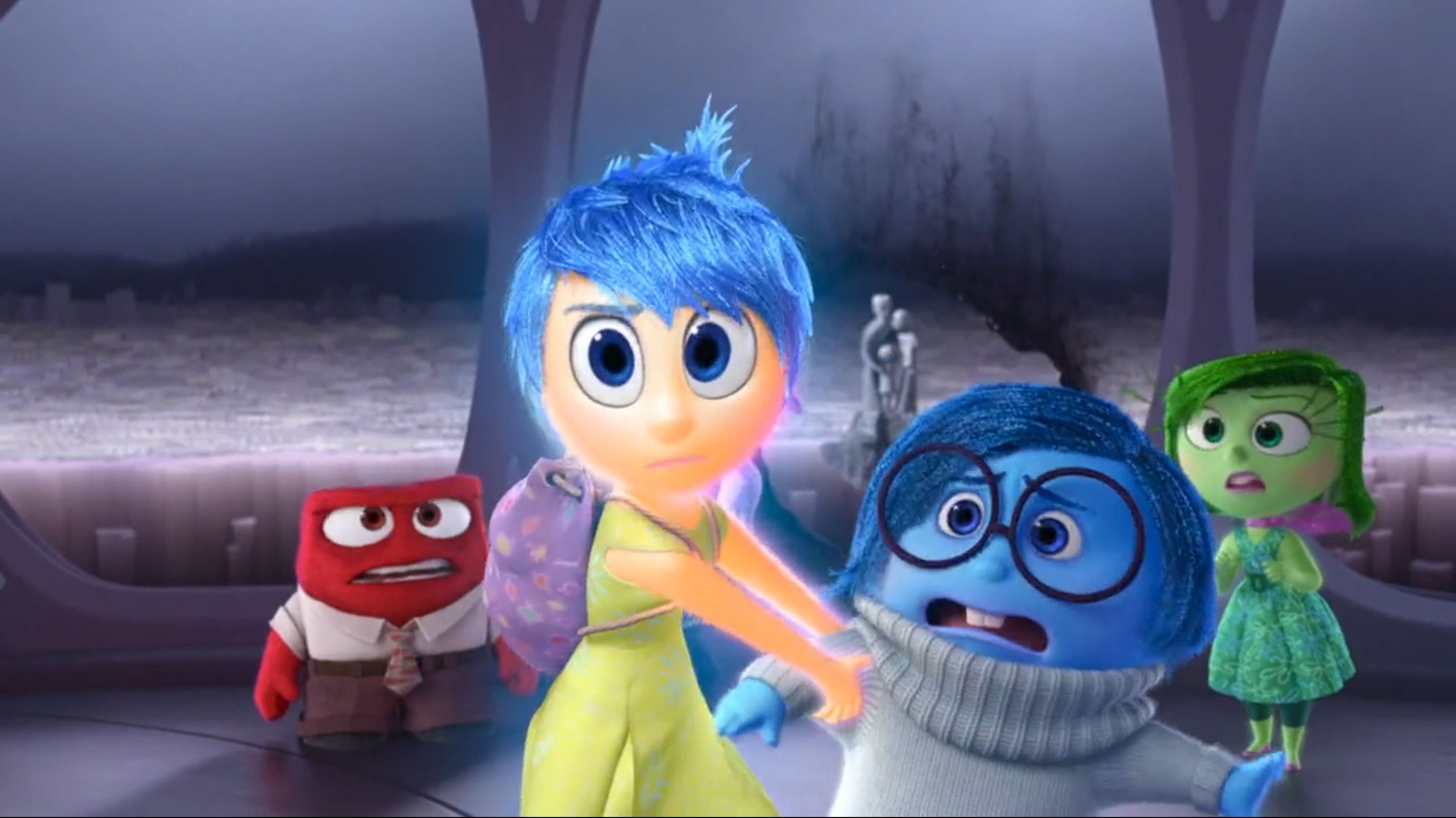 Inside Out Fear Coloring Pages