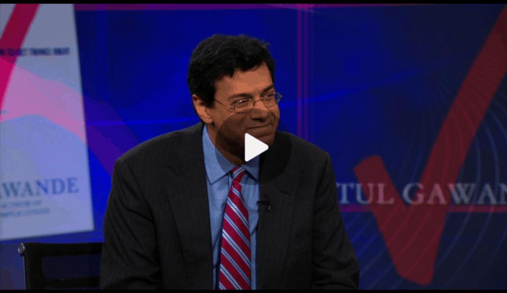 Atul Gawande on the Daily Show with Jon Stewart