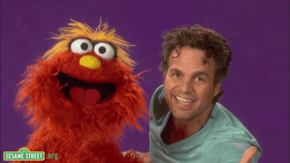Mark Ruffalo on Sesame Street - Empathy