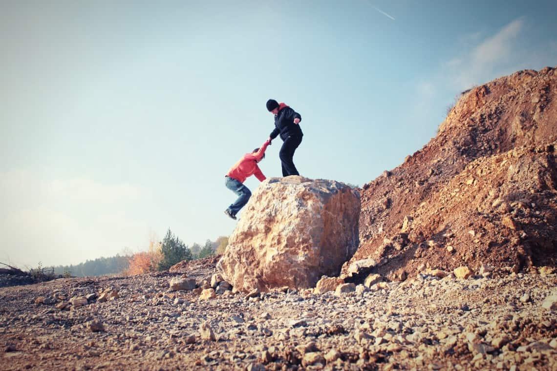 """Help with Climbing,"" Image by Bara Cross"