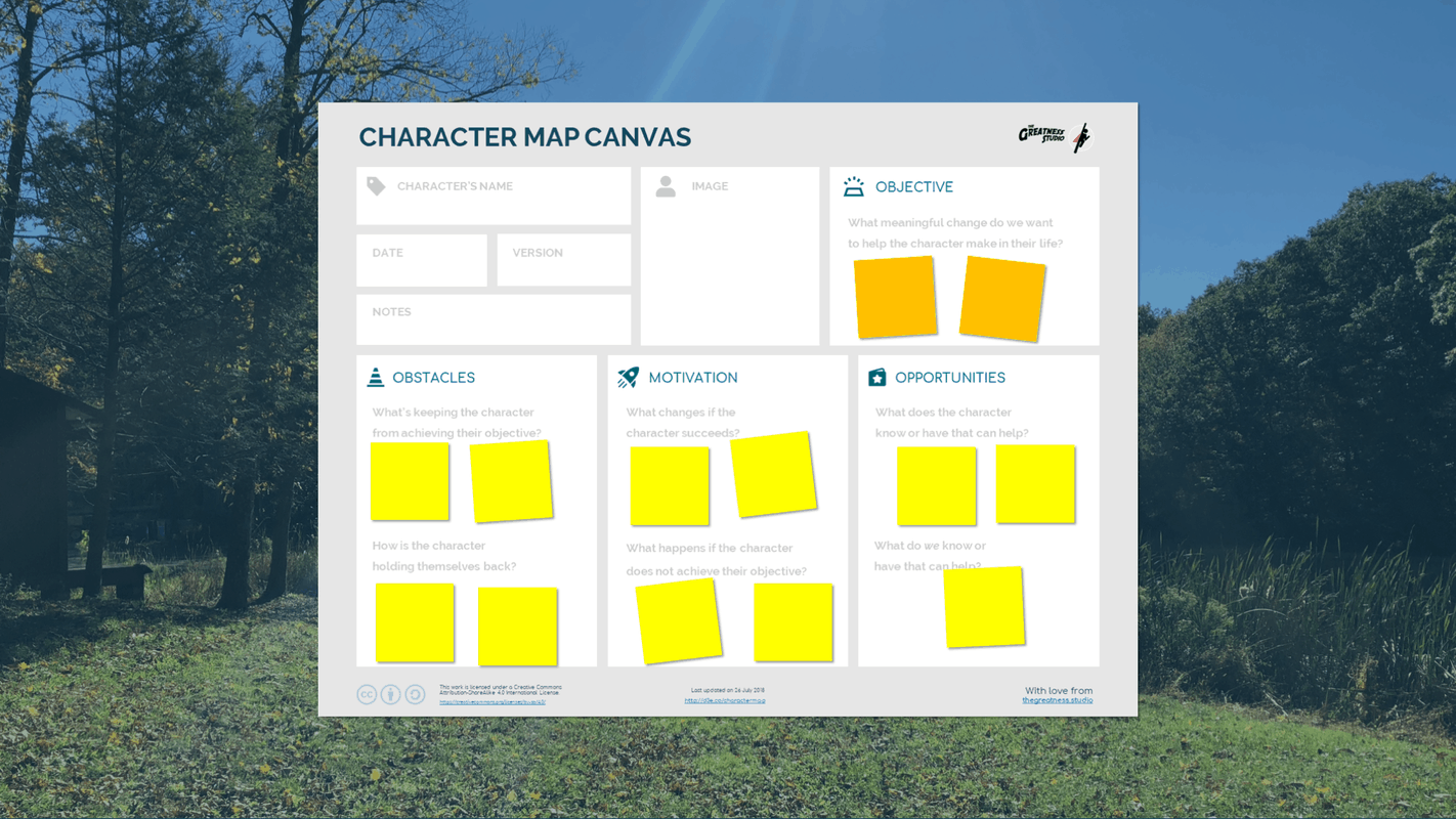 Character Map Canvas