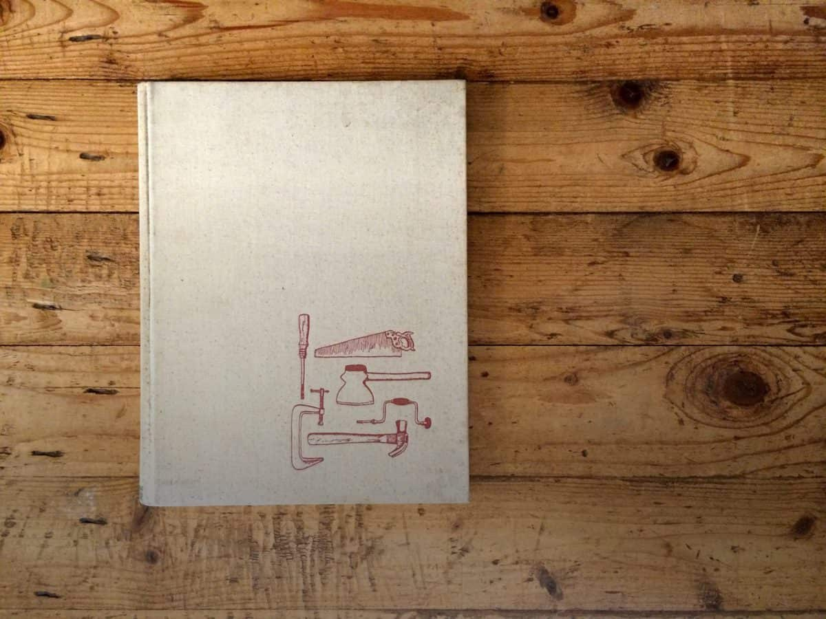 A beautiful book on a gorgeous wood table