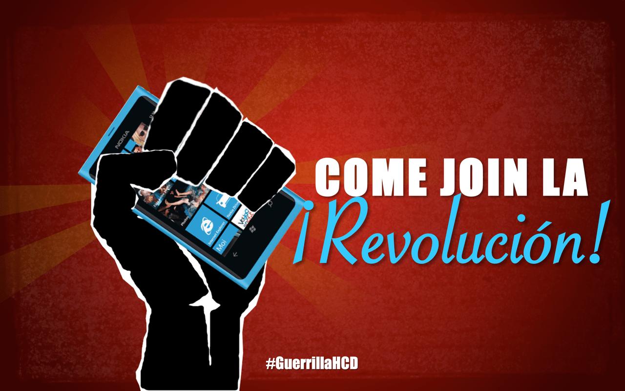 Come join La Revolución!